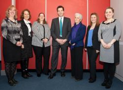 Edward Timpson MP with CCLC staff