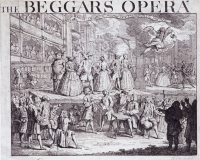 Poster for the Beggar's Opera