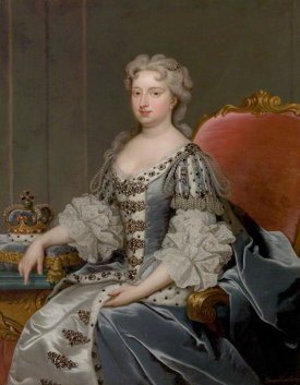 Portrait of Caroline of Ansbach, wife of King George II