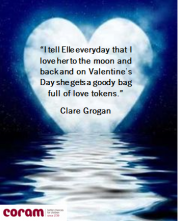 Moonlit Heart With Clare Groganu0027s Message Of Love To Her Adopted Daughter  On Valentineu0027s Day