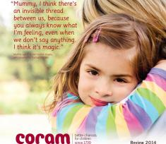 Coram 2014 Review front cover