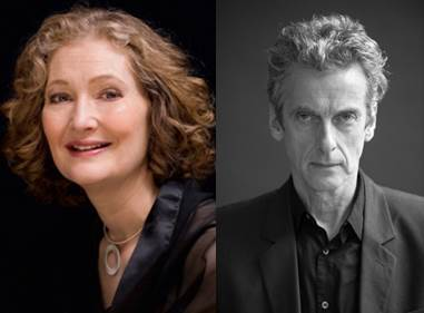 Dame Emma Kirkby and Peter Capaldi
