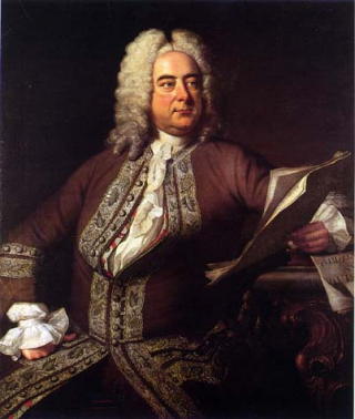 Portrait of Handel