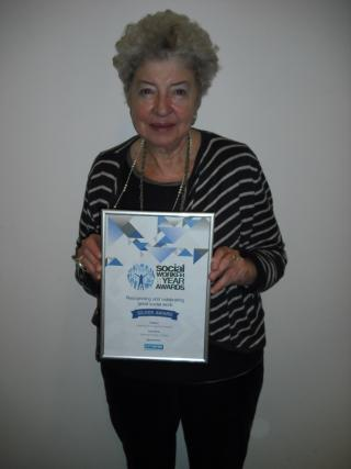 Social Work Awards -  Jeanne Kaniuk