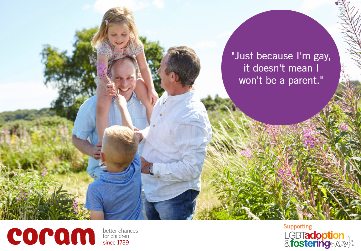 LGBT Adoption and Fostering Week image