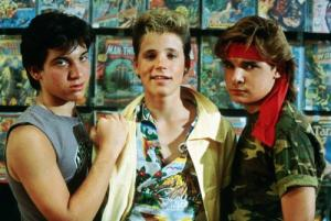 The Lost Boys image of Sam and the Frog Brothers