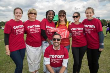 The 'Coram Army' supporting the Mace Foundation