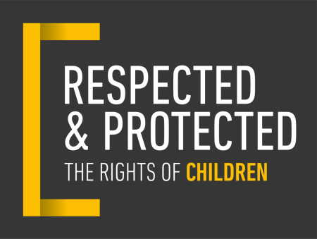 Respected and Protected Children's Rights Exhibition logo