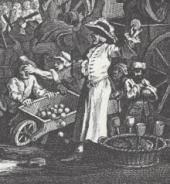 18th-century itinerant gingerbread seller