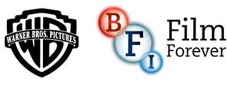 Warner Bros. logo and BFI logo