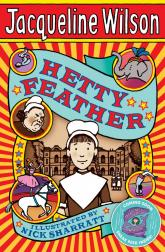 Book cover of Jacqueline Wilson's Hetty Feather