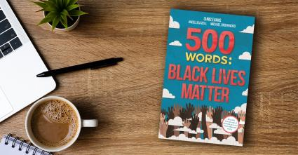 500wordsBlackLivesMattershortstoriesbook cover