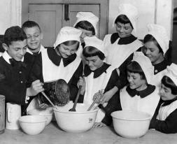 Pupils baking