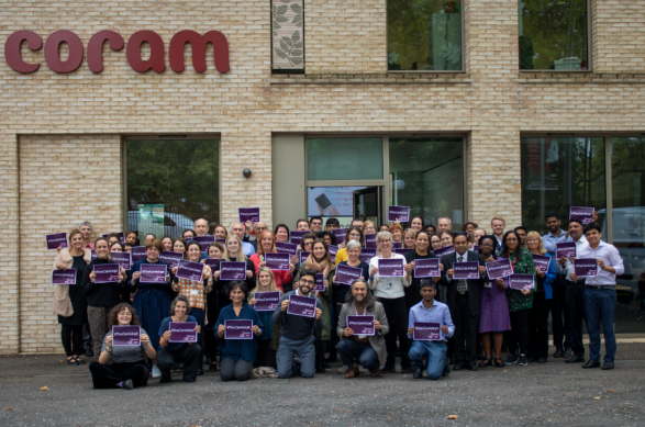 Coram National Adoption Week support