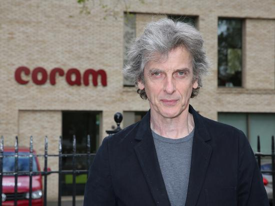 Peter Capaldi at Coram