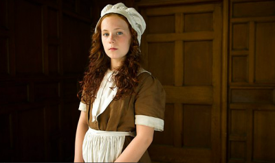 A screen shot from CBBC's Hetty Feather new television series