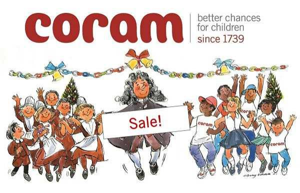 Coram Christmas Card Sale Banner