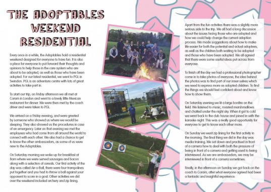 The Adoptables residential trip