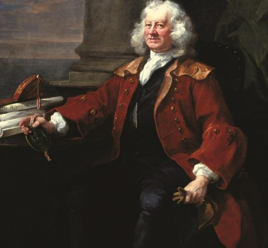 Hogarth portrait of Thomas Coram