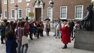 Walkers enjoy the captivating history of Coram