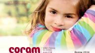 Coram Review 2014 front cover