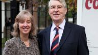 Carol Homden, Ted Harthill at CCLC launch