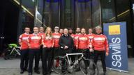 Cyclists ready for the challenge