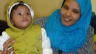 Mother and young toddler son at Coram Parents' Centre
