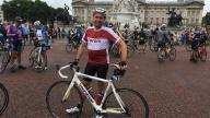 Coram cyclist at Ride London