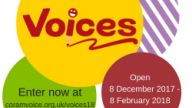 Voices 2018 logo