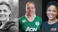 Sarah Outen, Niamh Briggs and Francesca Brown