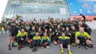 Image of cyclists at Cycle to MAPIC event
