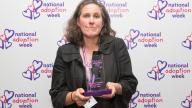 Lorraine Wallis at the National Adoption Week Awards