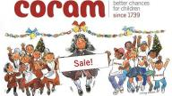 Coram Christmas Card sale