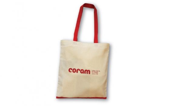 Coram Cotton Tote Bag