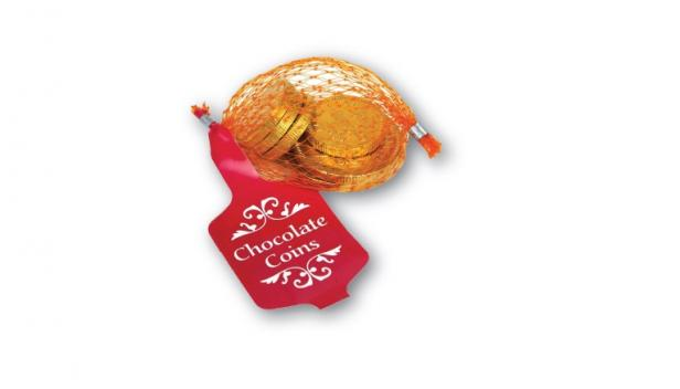Chocolate Coins, 25g