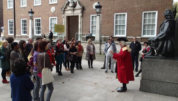 Discover Coram's London on our free historic walks