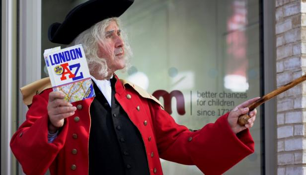 Explore Coram's London - historic walk with gingerbread!
