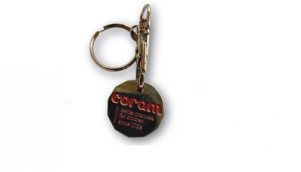 Coram Trolley Key Ring
