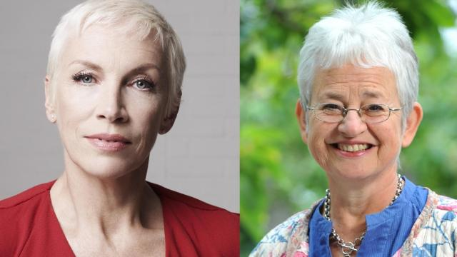 Annie Lennox and Jacqueline Wilson signed Coram Pledge