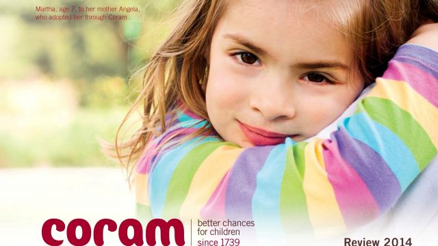 Coram annual review cover